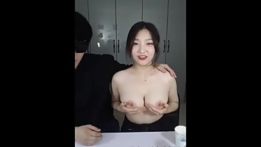 korean bj big boob