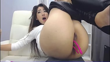 SHAYA_ASIAN FINGERING PUSSY AND MULTIPLES ORGASMS !