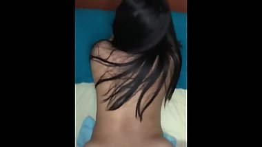 Asian Girlfriend Thick Creampie