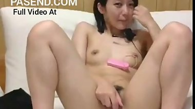 Cute Japanese Teen Uncensored Masturbation On Webcam