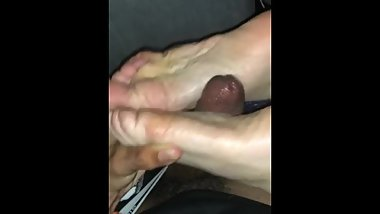 Alice's foot job