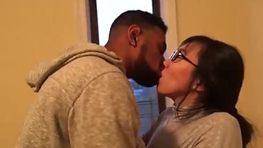 Korean student makes out with her first black guy