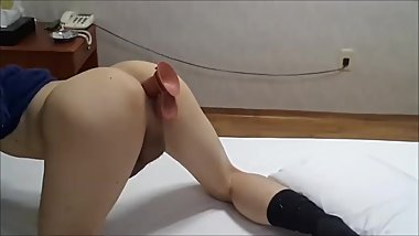 Korean twink dildo assplay 3