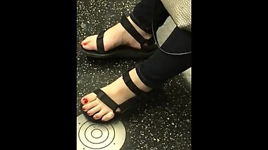 Candid Korean Feet Pt. 1