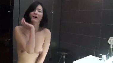 Super hot Korean girls threesome