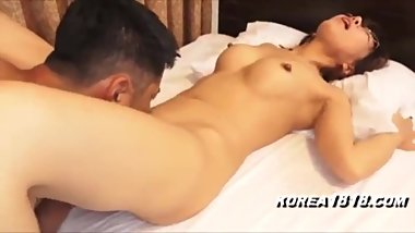 CUTE KOREAN TEEN WITH GLASSES FUCKED HARD