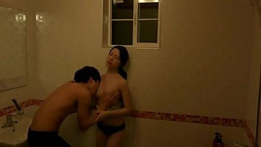 having a shower fuck with a my korean sister in law