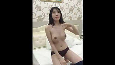 Gorgeous Half Chinese/Korean Live Fuck