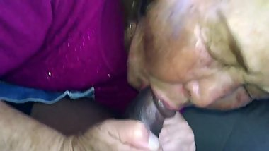 Old Korean granny giving head 2.