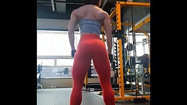 Cute Korean Muscle Girl 9