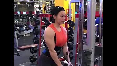 Cute Korean Muscle Girl 6