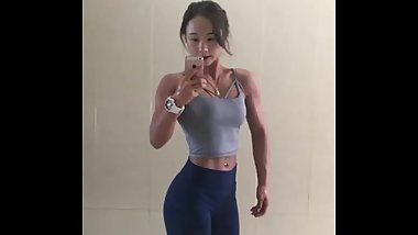 Cute Korean Muscle Girl 10