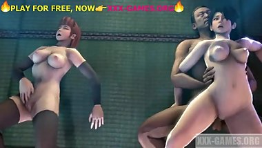 Public orgy with 2 korean babes,YOSHIWARA ROSE, porngame