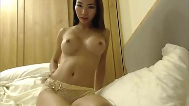 Sexy moaning Chinese doll will make you cum