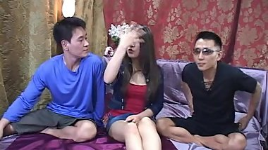 Korean threesome Hilovetv