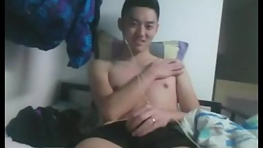 Chinese handsome straight guy cum 10 preview