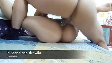 korean wife creampied by white husband