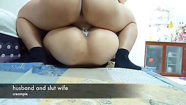 Creampie korean wife