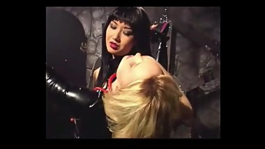 Mistress Sayako dominates poor blonde trash