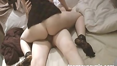 Outstanding Tight Korean pussy Doing a Great pov using some big dicks