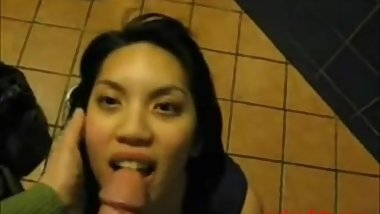 Compilation of Asian girlfriend sucking cock swallowing cum getting facial