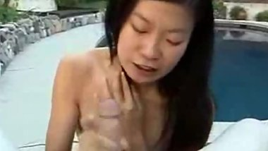 Tight mouth asian girlfriend blows my cock